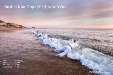 Bushin Kan Dojo Annual New Year Morning Workout